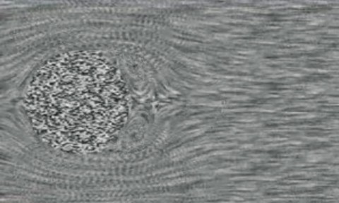 Lines of flux visualization in fluid simulations